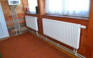 Монтаж радиаторов (батарей) отопления в частном доме