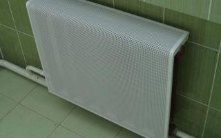 Монтаж экрана на радиатор отопления