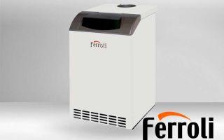 Обслуживание котлов Ferroli