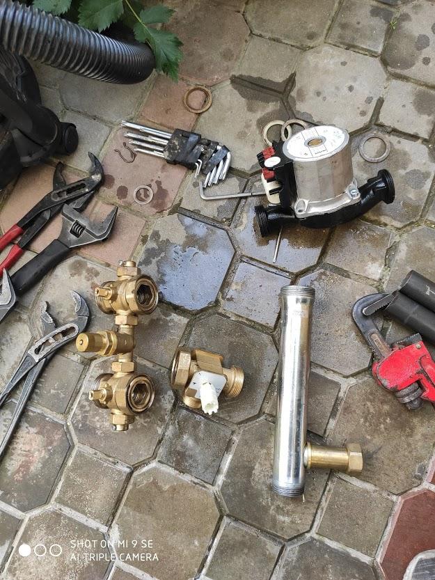 Как проходит ремонт газовых котлов